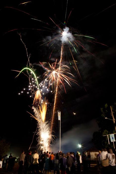 fogos de artifício baragem senhora da glória